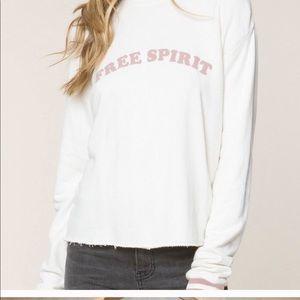 FREE SPIRIT sweater - Spiritual Gangster ☮️